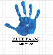 THE BLUE PALM